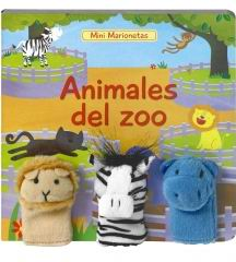 Mini Marionetas. Animales del zoo