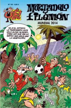 Mortadelo y Filemón. Mundial 2014