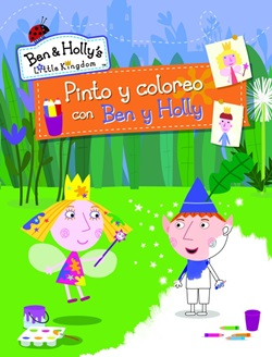 Pinto y coloreo con Ben y Holly